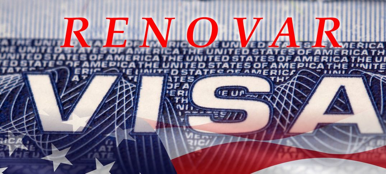 renovar visa de trabajo